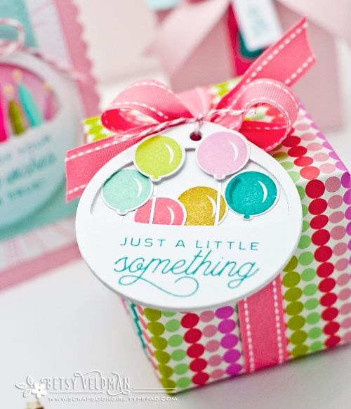 A Little Something Tag by Betsy Veldman for Papertrey Ink (November 2016)