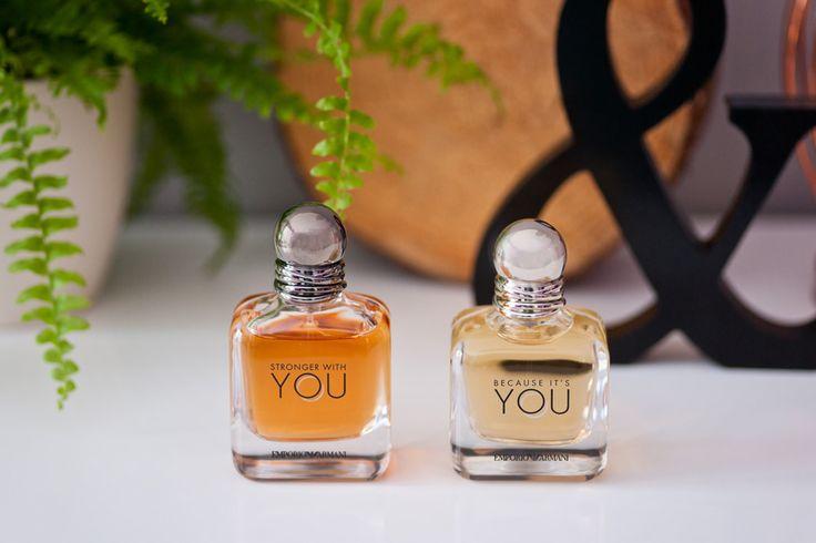 Emporio Armani perfumy Because it's you (damski) & Stronger with you (męski)
