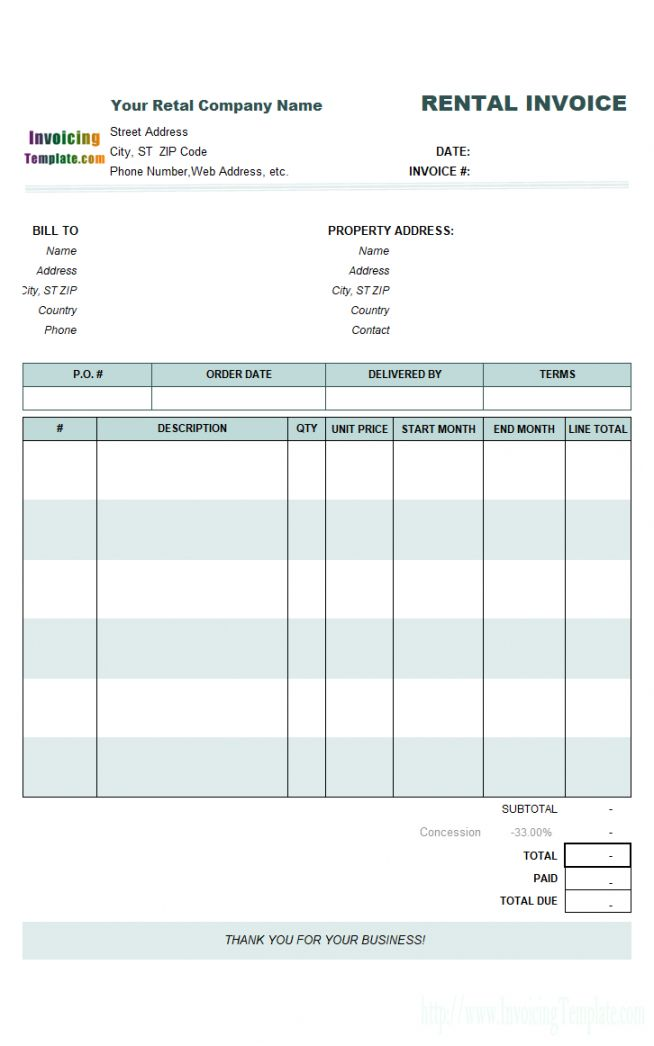 Get Our Example Of Monthly Rental Receipt Template Receipt Template Invoice Template Property Management