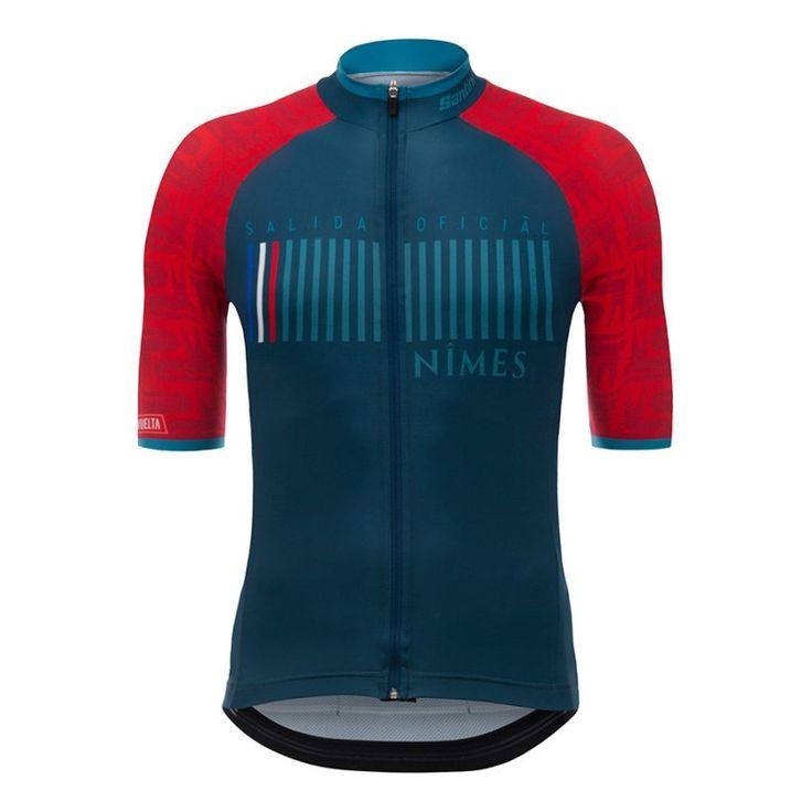 Maillot SANTINI La Vuelta 2017 Nimes