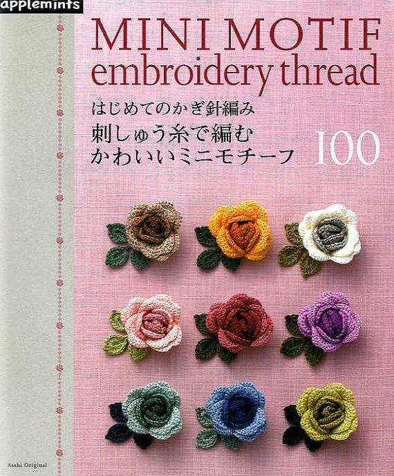Libro en rústica: 80 páginas  Editor: Menta de manzana (2011)  Idioma: Japonés  Libro peso: 350 gramos  100 patrones de bonito Crochet motivos