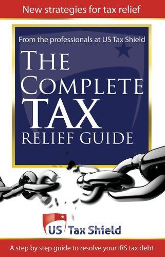 http://debtrelief.digimkts.com    So glad I called  Worth a call : 866-232-9476  The Complete Tax Relief Guide - A Step-by-Step Guide to Resolve Your IRS Tax Debt by US Tax Shield. $9.45