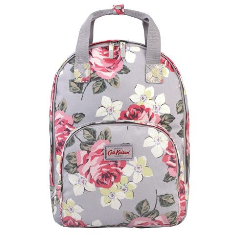 Cath Kidston Richmond rose multi pocket backpack