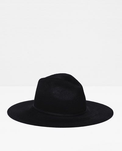 ZARA - WOMAN - SPECIAL EDITION HAT