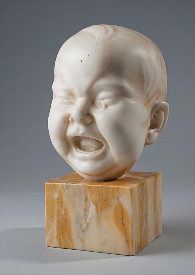 Riccardo Piter | Testa di bambino, on Galleria dell'Incisione.