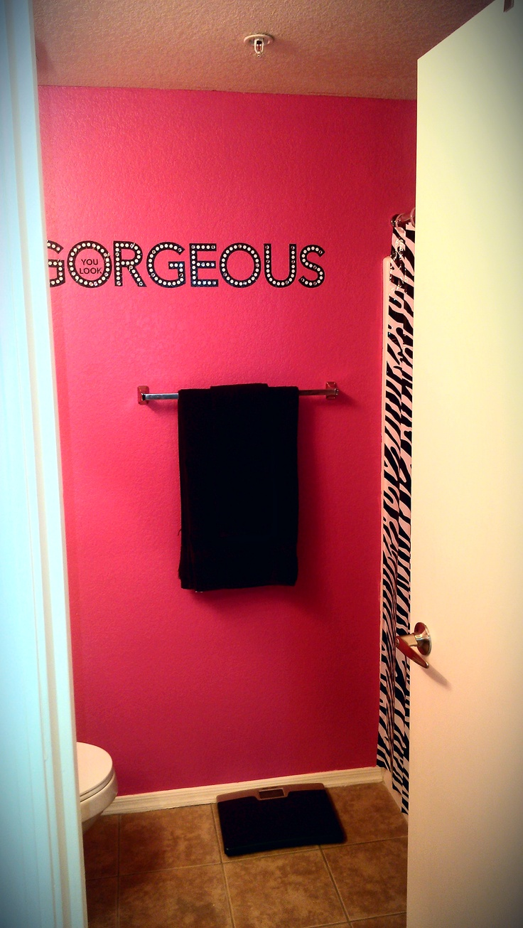 best 20 hot pink bathrooms ideas on pinterest diy pink my beautiful hot pink bathroom is complete