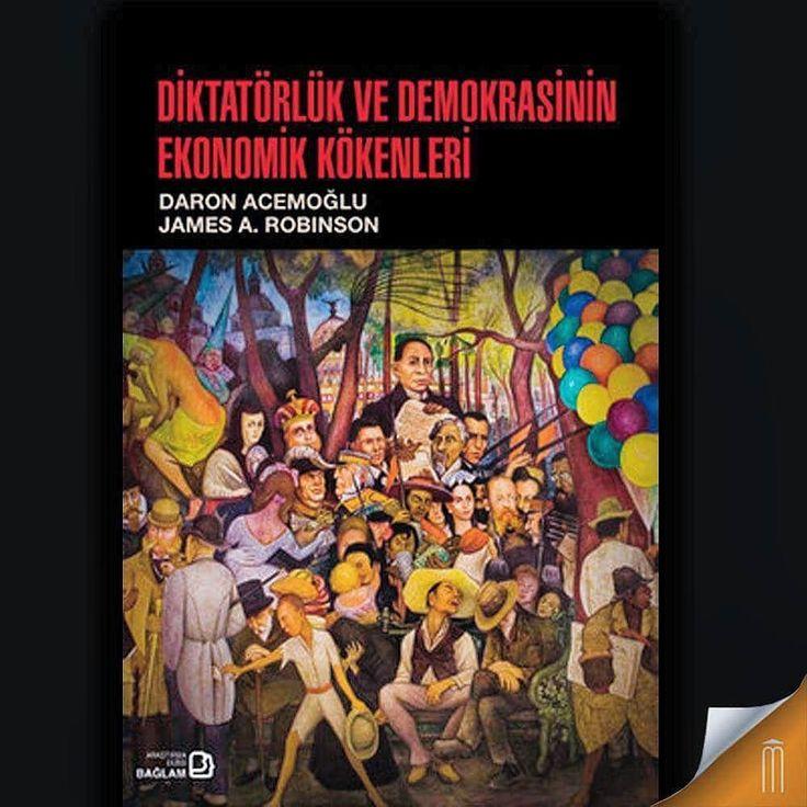 Demokrasinin oluşumu ile konsolidasyonuna yönelik bir çerçeve... Yazar: James A. Robinson Daron Acemoğlu  #kitap #demokrasi #mephisto
