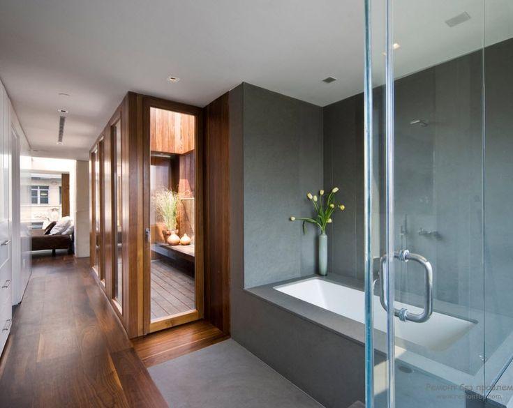 Сауна в интерьере современной квартиры