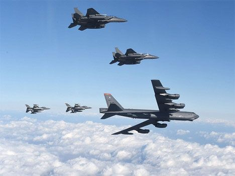 America heavy B-52 Stratofortress that can carry nuclear weapons. Read international news in Hindi. Stay tuned for b -52  news and other Hindi News at amarujala.com