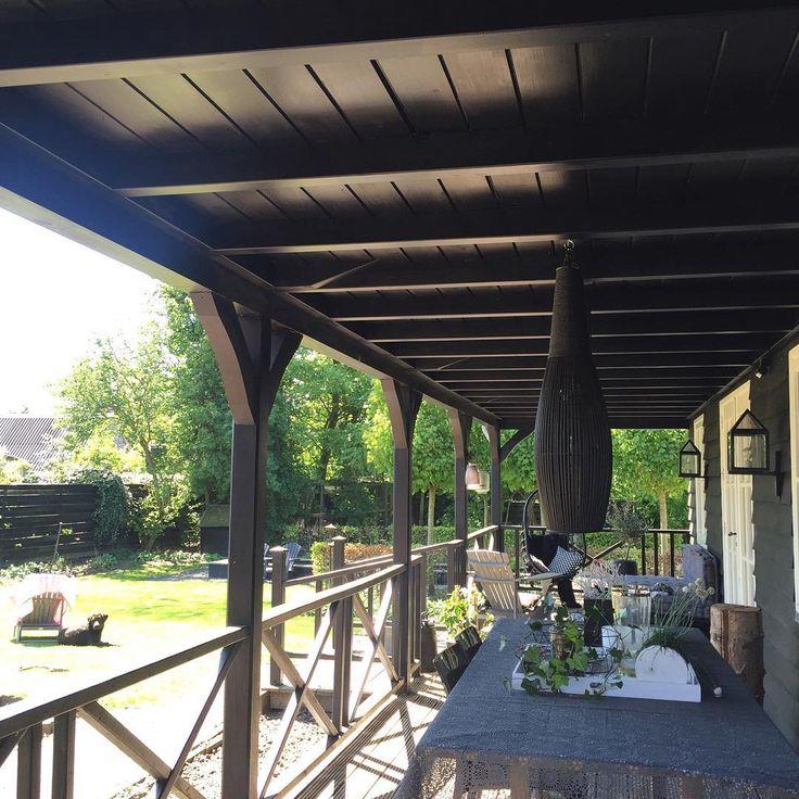 25 beste idee n over veranda plafond op pinterest veranda gordijnen blauw veranda plafond en - Arbor pergola goedkoop ...