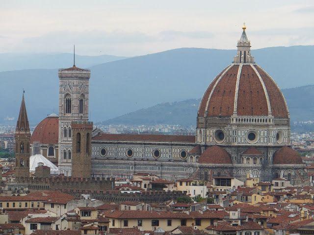 Le panorama de Florence depuis l´esplanade Michel-Ange - Blog d´Elisa N | Voyages, Photos, Inspiration voyage et Lifestyle