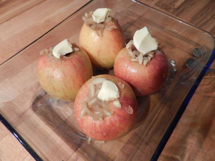 Münchner Rezepte: Weihnachtszeit ist Bratapfelszeit: Äpfel mit Butterflocken
