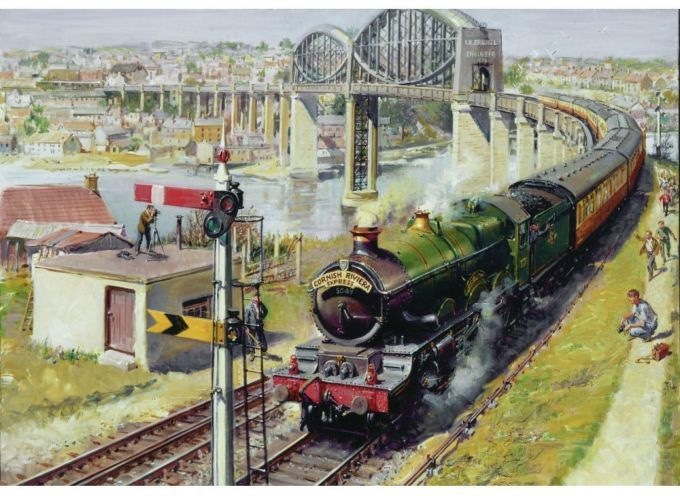 1st October 2013 Terence Cuneo - Art for an Age of Steam