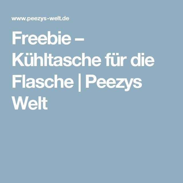 Freebie – Kühltasche für die Flasche | Peezys Welt