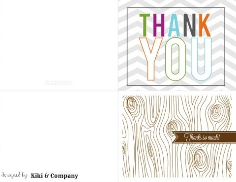 Printable Thank you Notes | Todayscreativeblog.net