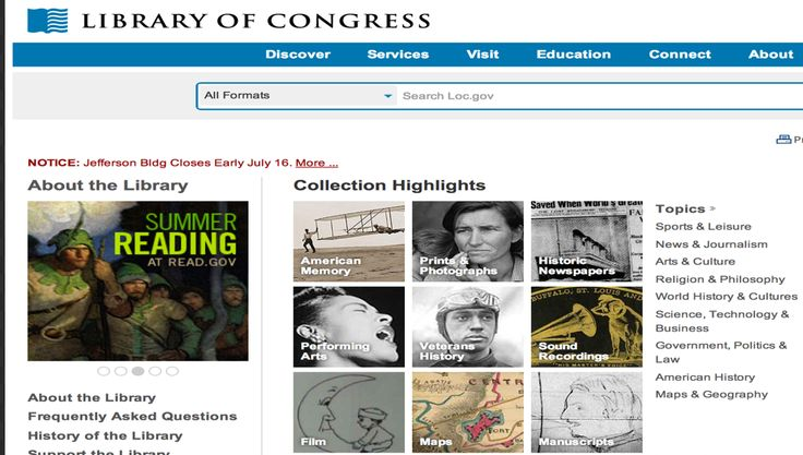 10 Great Platforms for Primary Source Documents ~ Educational Technology and Mobile Learning