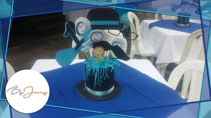Centro de mesa sombrero para el d a del padre 2 - Decoracion de sombreros ...