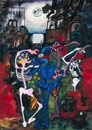 Edward Burra 'Dancing Skeletons', 1934 © Tate