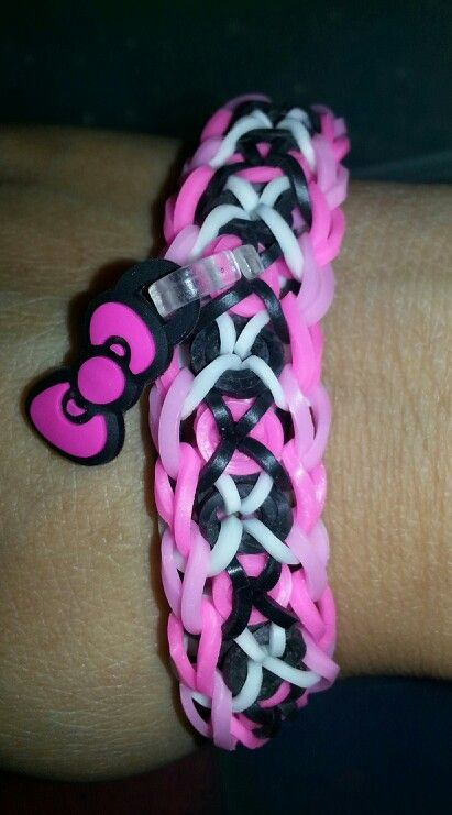 Bracelet en elastique hello kitty