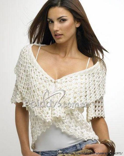 bolero ♪ ♪ ... #inspiration_crochet #diy GB