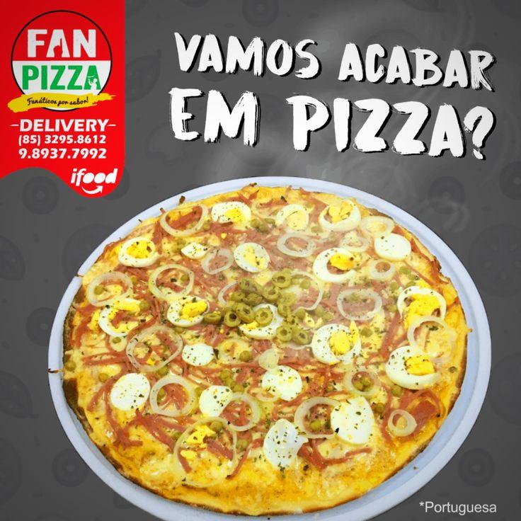 Domingo sempre acaba em Pizza 🍕Hoje é dia de Reunir a galera e visitar a gente em nossa loja! Estamos aguardando todos vocês! #calzone #pizza #crepes #FanPizza #fikdik #SaboresdeFortaleza #Instafood