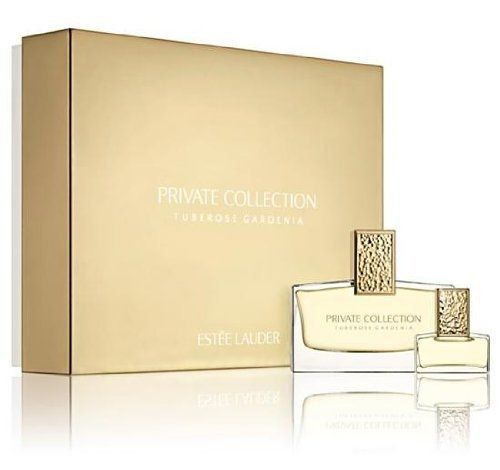 Estee Lauder Private Collection Tuberose Gardenia Fragrance for Women 2-Piece Gift Set: Eau De Parfum Spray 1 oz + Eau De Parfum Travel Spray 0.14 oz (Limited Edition) by Estee Lauder. $125.99. Private Collection Tuberose Gardenia 1.oz / 30 ml edp Spray. Estee Lauder Private Collection Tuberose Gardenia edp Spray and Mini Gift Set. and 0.14 oz Mini n an exclusive gift box. Estee Lauder Private Collection Tuberose Gardenia Fragrance for Women 2-Piece Gift Set (Limited Edition)