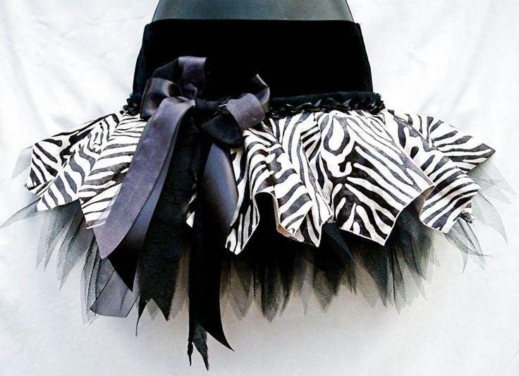 Zebra tutu.