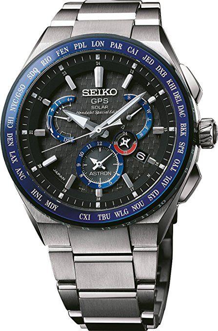 Seiko Astron Gps Solar Honda Jet Sbxb133 Mi Estilo Reloj Y Reloj