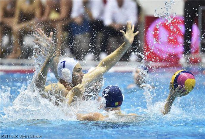 Nyolcgólos magyar siker a románok ellen A magyar férfi vízilabda-válogatott 16-8-ra legyőzte a román csapatot a világliga európai selejtezőjének második fordulójában. #vízilabda #hajrá magyarok