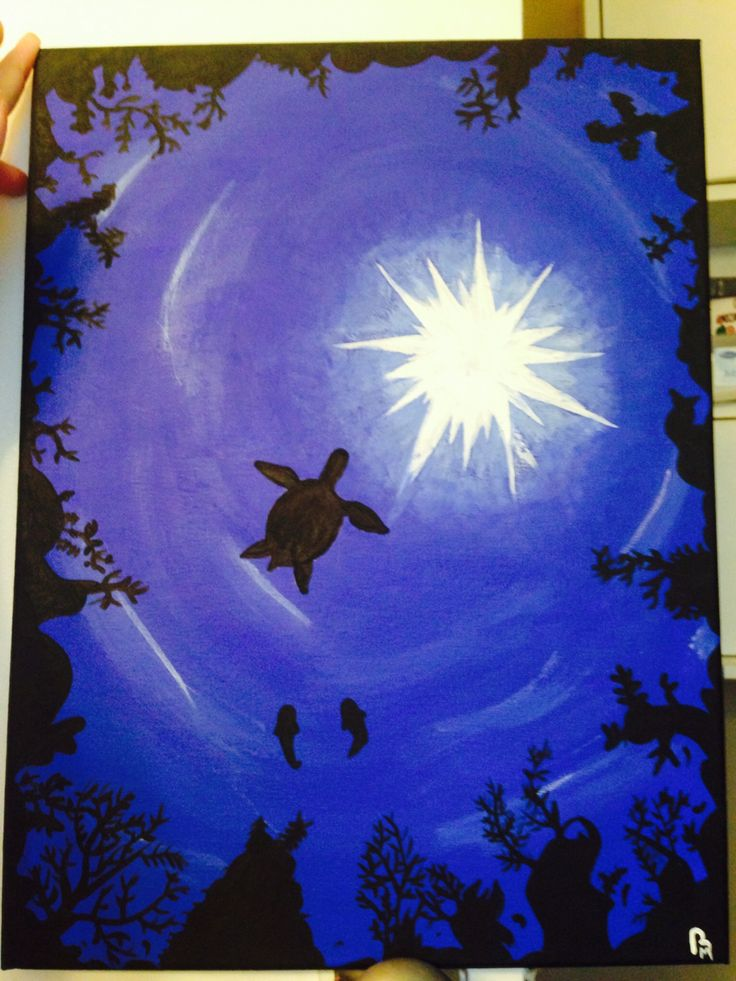 Under the sea painting!