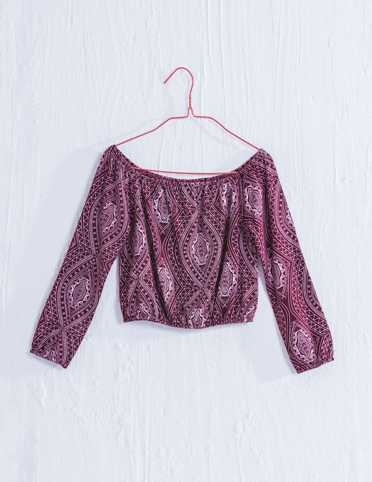 Peasant top for Girls