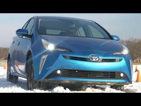 2019 toyota prius xle awd e blue full review youtube rh pinterest com