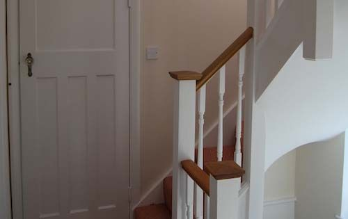 loft conversion halls stairs information and images from. Black Bedroom Furniture Sets. Home Design Ideas