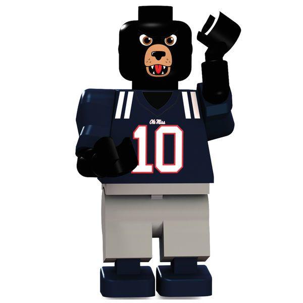 Ole Miss Rebels OYO Sports Mascot College Minifigure