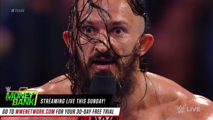"Akira Tozawa should ""tread carefully"" if he plans on stepping up to the KING of the Cruiserweights Neville!  WWE Raw continues now..."