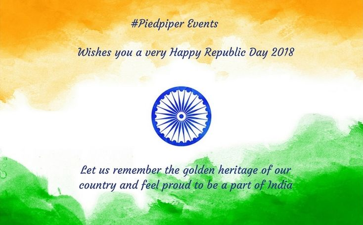 "#HappyRebublicDay remember ""we are #Indians, firstly and lastly""!!..#constitutionday #republicday #feelproud #India #piedpiperevents #EventManagement #WeddingPlanner #Bangalore."