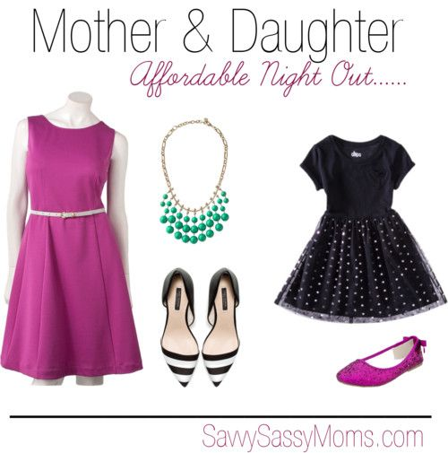 Affordable Mother Daughter Fashion | Savvy Sassy Moms