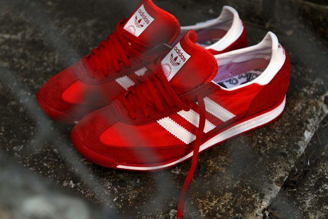 adidas Originals SL 72s in an irresistable shade.