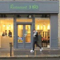 Restaurant 3 bio - Paris : bio et sans gluten