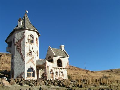 Castle of Clarens, Free State, South Africa