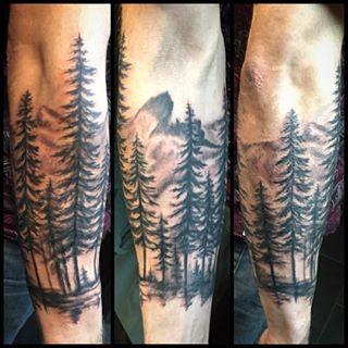1000 ideas about mountain tattoos on pinterest tattoos for Mountain tattoo sleeve