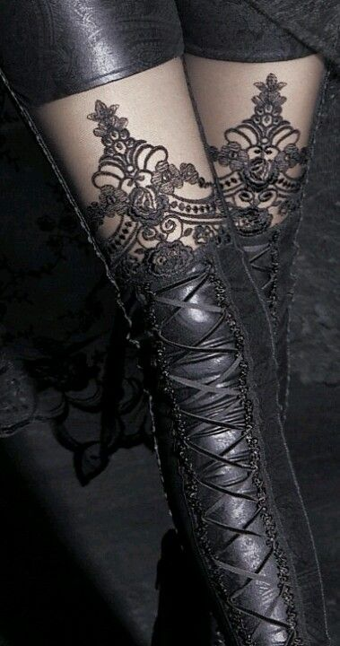 Legs, lace & leather