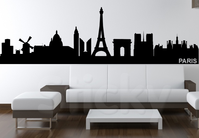 Wall Sticker PARISCITY by Sticky!!!
