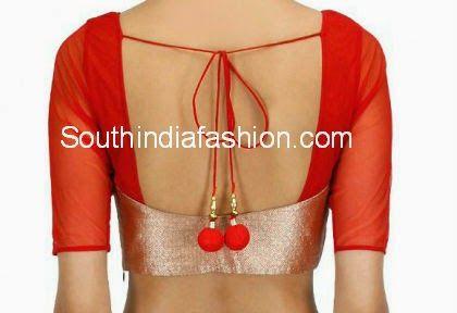 latest sari blouse patterns