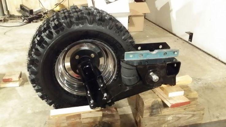 25k Lift Axle For Trailer : Timbren heavy duty axle less trailer suspension quot lift