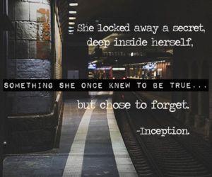 Christopher Nolan, Inception, quotes, train, forget, secret, inside
