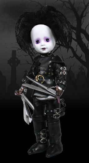 living dead dolls | LDD Presents: Edward Scissorhands - Living Dead Dolls HE'S ADORABLE