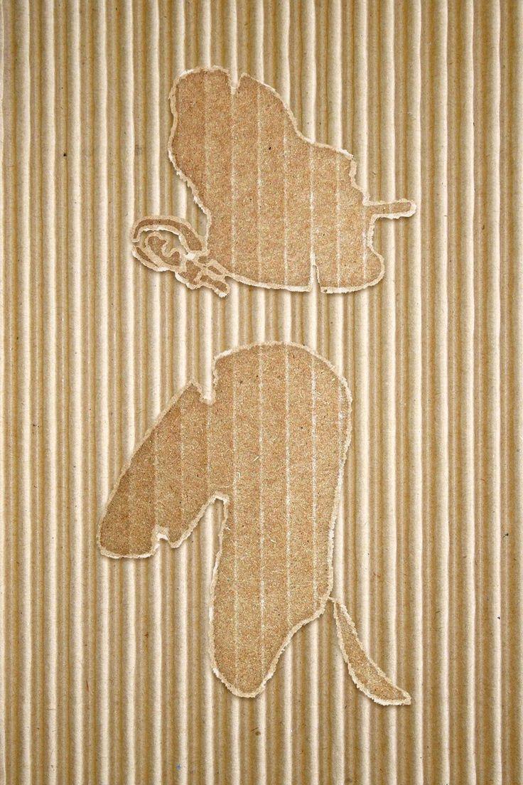 cardboard girl by dccanim.deviantart.com on @DeviantArt