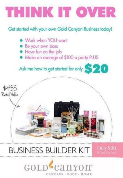 Gold Canyon is an amazing company to be apart of! Find out more at www.mygc.com/jerricamills facebook.com/goldcanyonjmillsgillette