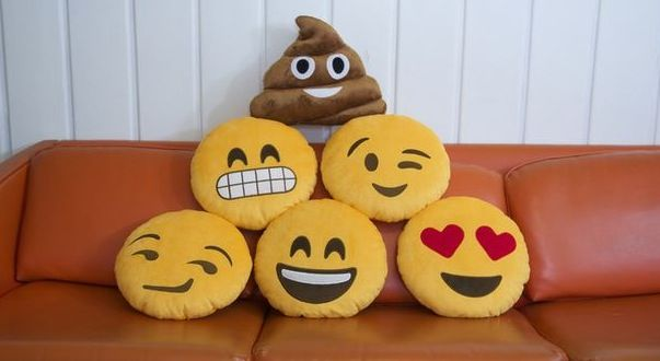Emoji pillows first of all throw pillows second of all emojis this works out perfectly